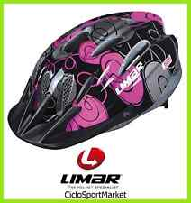 "Casco Limar Ciclismo Ideale Per Bambina 505 Superlight ""Swirl Black"" Taglia M"