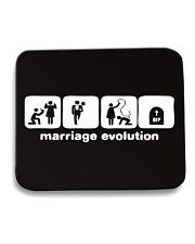 Tappetino Mouse Pad MAT0054 Marriage Evolution Maglietta
