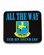 Tappetino Mouse Pad OLDENG00380 all the way 5th bn 502nd inf white