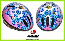 "Casco Limar Ciclismo Ideale Per Bambina 123 Superlight ""Flowers"" Taglia S"