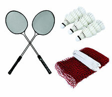Rajson Badminton Racket (2pc) double rod   box of Shuttle Cock   Badminton NET