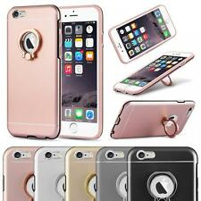 Ring Cover Ultra Slim Hard Back Protective Kickstand 360 Case Cover  iPhone 6/6s