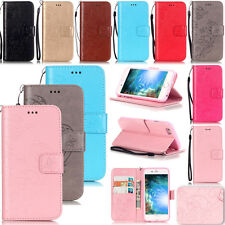 KMYB Embossing Leather Flip Case Cover For Apple iPhone 7 6S 6 Plus 5S Touch 6th