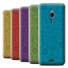 STUFF4 Phone Case/Back Cover for Nokia 230 /Floral Swirl Pattern