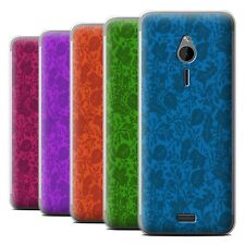 STUFF4 Phone Case/Back Cover for Nokia 230 /Leaf/Silhouette Pattern