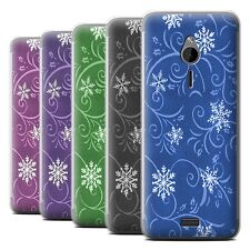 STUFF4 Phone Case/Back Cover for Nokia 230 /Snowflake Pattern