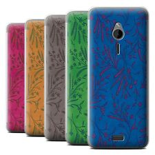 STUFF4 Phone Case/Back Cover for Nokia 230 /Wheat Floral Pattern