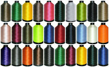 60'S 4000MTRS, STRONG BONDED NYLON THREAD UPHOLSTERY LEATHER WORK, ASSORTED COLS