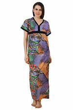 Fasense Women Cotton Nightwear Sleepwear Long Nighty DP189_A