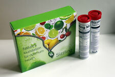 Simply Naturals Sizzling Minerals LEMON & LIME + FREE SAMPLE & 99p BROCHURE