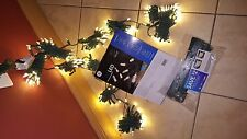 NEW - GE StayBright 300 Count White Micro style LED Christmas String Lights