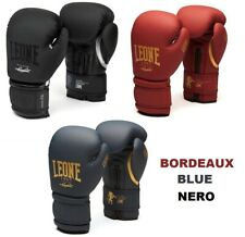 GUANTONI LEONE Black & White GN059 10oz BOXE KICK BOXING MUAY THAI