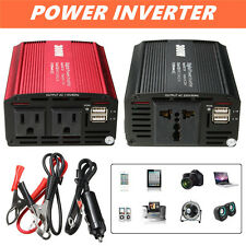 300W Inversor corriente DC 12V A AC 110/220V Charger Converter Adapter Dual USB
