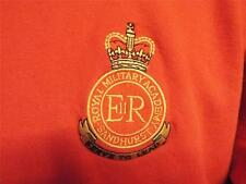 MOD SURPLUS RMAS ROYAL MILTARY ACADEMY SANDHURST Embroidered SWEATER JUMPER