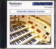 THEATRE ORGAN PLAYER floppy disk for Technics Keyboards, KN7000 KN6000 KN5000 +