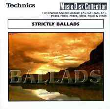 STRICTLY BALLADS floppy disk Technics KN7000 KN6000 KN5000, KN3000 KN2000 etc