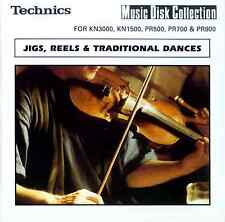 JIGS, REELS & TRADITIONAL DANCES floppy disk Technics KN7000 KN6000 KN5000, etc