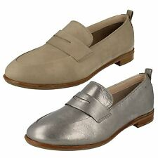 Ladies Clarks Slip On Casual Shoes Style -  Alania Belle
