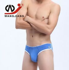 Mens Sexy Cotton Underwear with Pouch Bulging Low Rise Briefs