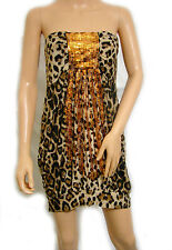 Party Club Wear Chicl Sexy Elegant Sequins Mini Dress UK size 8-10 Colours Avail