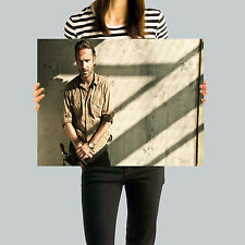 The Walking Dead: Rick Grimes Poster, Wall Art, Framed Picture, A2, A3, A4