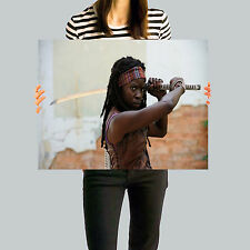 The Walking Dead: Michonne Poster, Wall Art, Framed Picture, A2, A3, A4