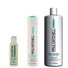 Paul Mitchell INSTANT MOISTURE DAILY SHAMPOO (Hydrates and Revives)*FASTDELIVERY