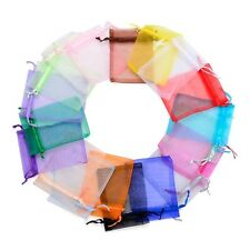 25 Luxury Organza Gift Bags Wedding Party Favour Jewellery Packing Pouches Bag