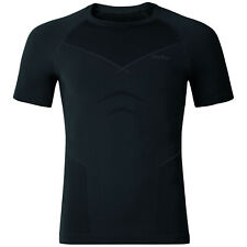 ODLO WARM EVOLUTION Herren Funktionsshirt, Kurzarm, schwarz, Shirt