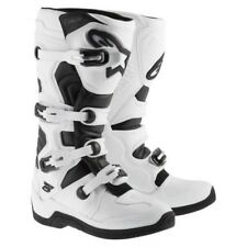 ALPINESTARS TECH 5 MOTOCROSS STIVALI BIANCO ENDURO CROSS MTB SM