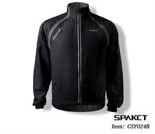 Spakct Long Sleeve Windproof Mens Cycling Jacket/Vest - Brand New