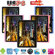 7Inch Google Android 4.4 Quad Core Tablet PC 8GB Dual Camera Wifi Bluetooth USPS