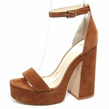 B2304 sandalo donna WINDSOR SMITH ROAR scarpa cuoio shoe woman