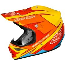 Casque de moto Troy Lee Designs AIR Stinger jaune #9656 Casque Cross