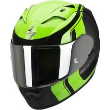Casco Moto Scorpion Exo 1200 Air Stream Tour Nero Verde #6666 Integrale