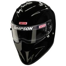 Casco moto Simpson Diamond back nero opaco #1013 Fighter casco