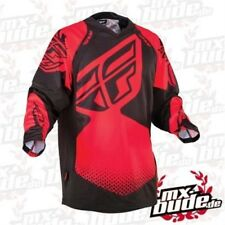 Fly Jersey Evolution Rev rojo-negro Motocross Enduro Cross MTB MX Quad FMX IE