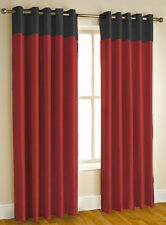 Kwality Designer Blackout Red Curtain with Eyelets (BO20-14)