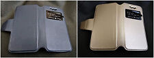 Universal flip flap cover case for 4 inch mobile All brand mobile phone