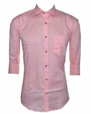 Pink Cotton casual shirt for Mens - 256