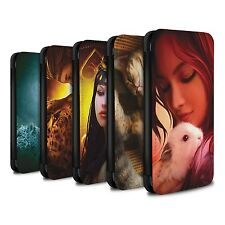 Elena Dudina PU Leather Case/Wallet for Samsung Galaxy S7 Edge/G935 /The Animals