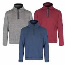 Regatta Mens Troy Half Zip Fleece Sweater Top Sweatshirt RRP £40