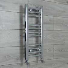 200mm Wide 600mm High Straight Chrome Heated Towel Rail Radiator Bathroom Rad