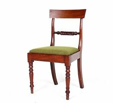 Antique Victorian Chair Mahogany Dining Chair 19th Century