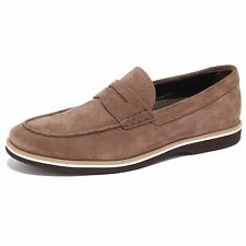 3830Q mocassino uomo HOGAN marrone scarpa suede brown shoe men