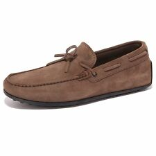 4407Q mocassino uomo TOD'S scarpa marrone loafer shoes men