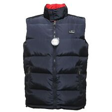 3591M giubbotto piumino blu BROOKSFIELD smanicato quilted jackets coats men