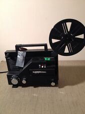 Chinon 727 Whisper Dual 8 Silent 8mm Film Projector