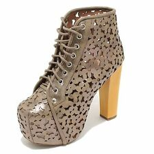 3394I tronchetti donna JEFFREY CAMPBELL lita daisy scarpe ankle boot shoes women