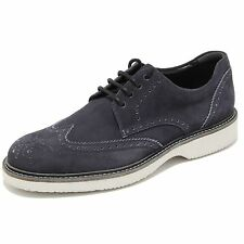 0719L scarpe uomo blu HOGAN route derby scarpe shoes men